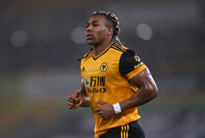 Wolves player, Adama Traore