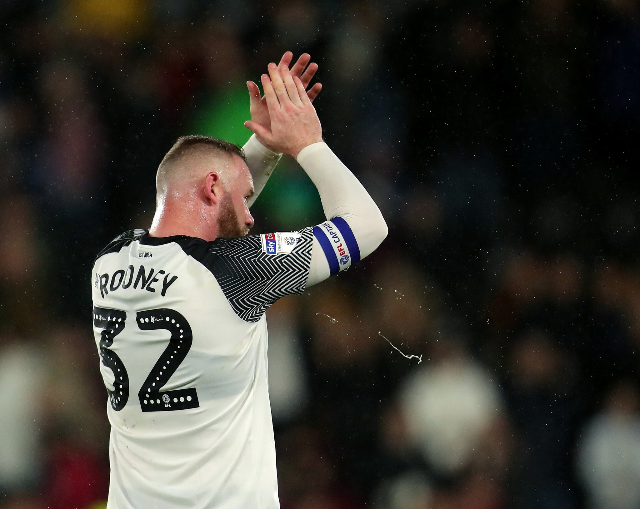 Rooney as a player for Derby County