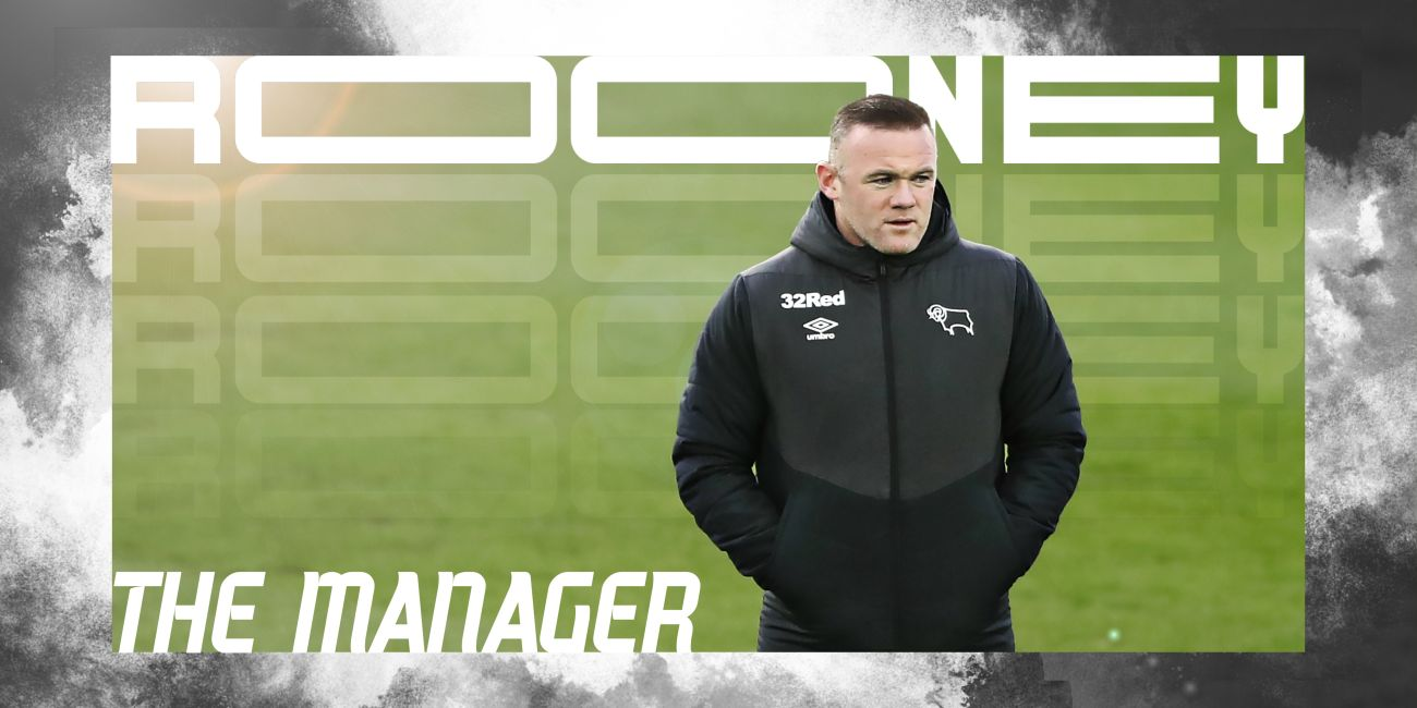 Rooney as a manager of Derby County
