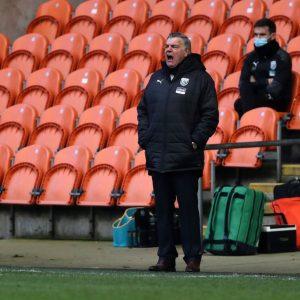 West Brom's manager, Sam Allardyce