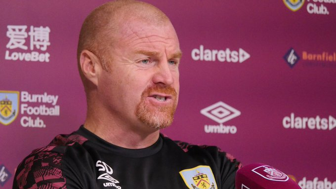 Burnley manager, Sean Dyche