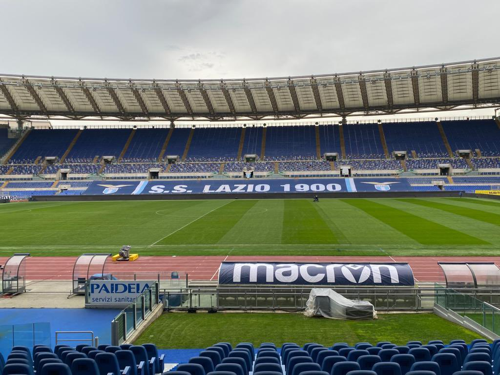 Lazio's home, Stadio Olimpico, where the derby will be played
