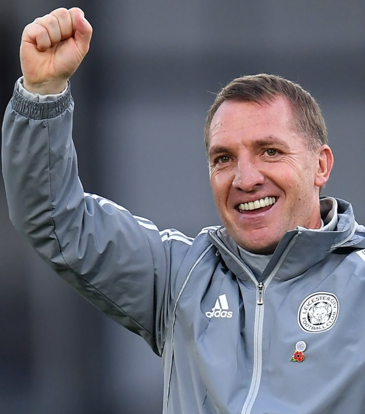 Leicester City's manager, Brendan Rodgers