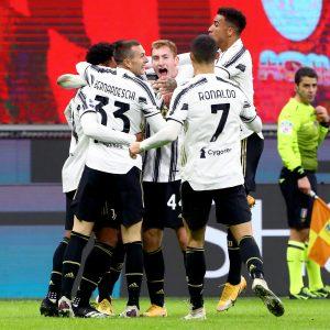 Juventus celebrates