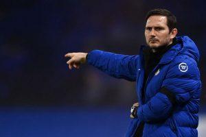 Chelsea's coach, Frank Lampard