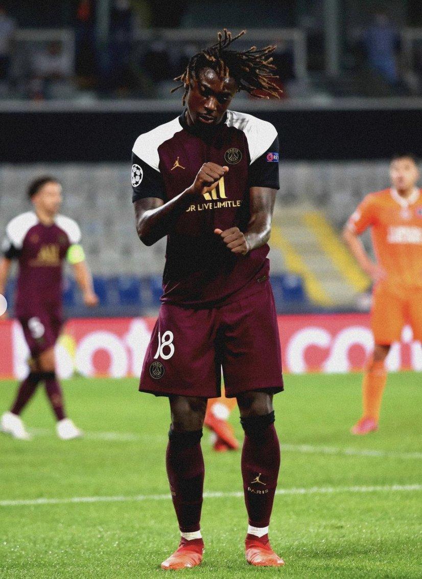 Moise Kean scores first goal for PSG under Pochettino