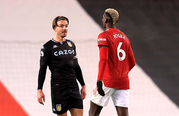 Paul Pogba and Jack Grealish