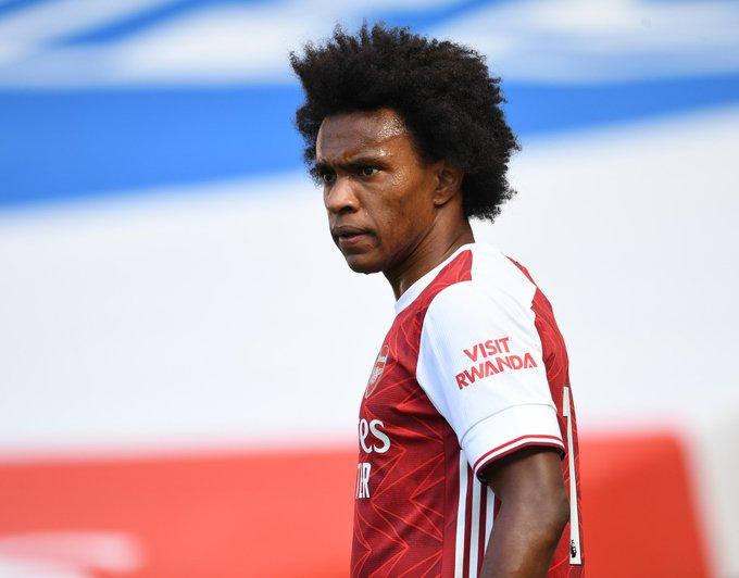 Willian in Arsenal