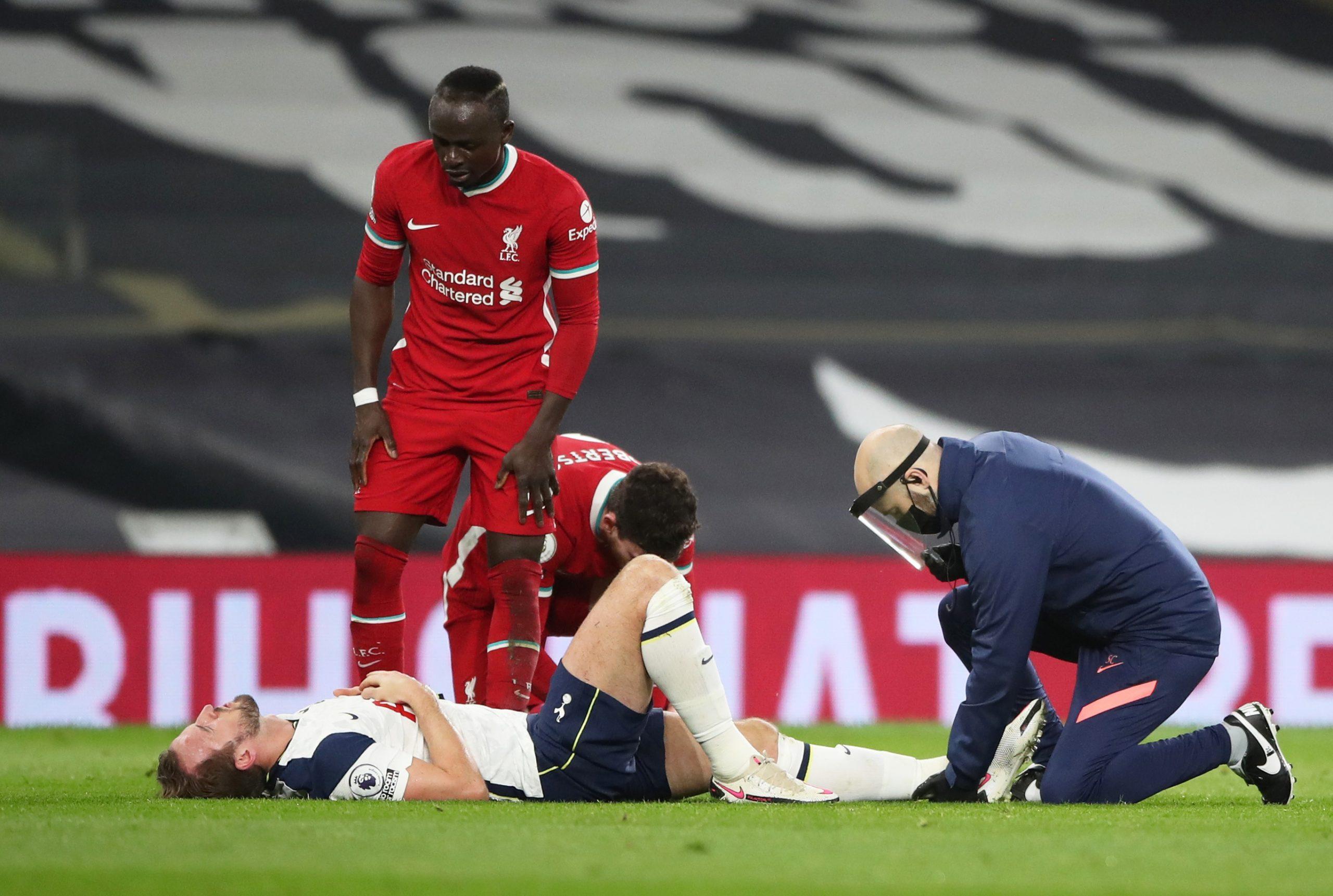 Tottenham's Harry Kane injured