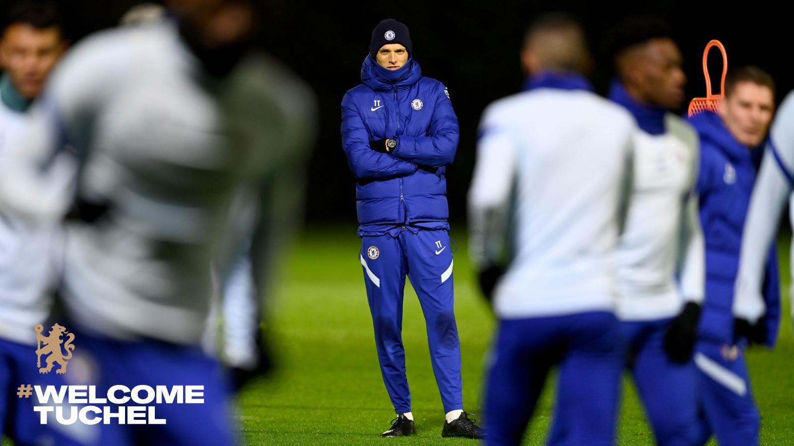 Chelsea manager, Thomas Tuchel