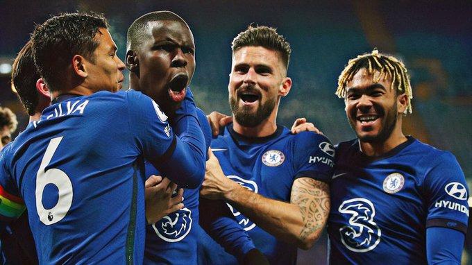 Chelsea celebrates