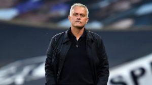 Tottenham's manager, Jose Mourinho