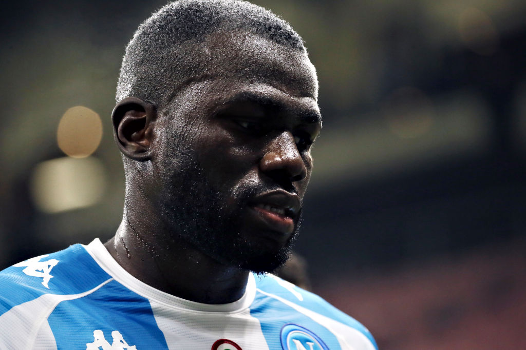 Napoli's defender, Koulibaly