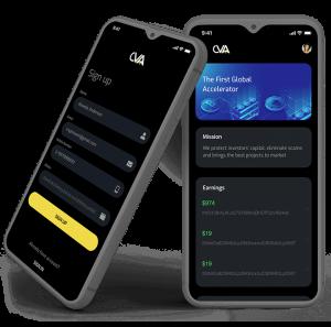 Crypto Village Accelerator App