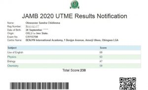 How to Check Jamb Result with Registration Number
